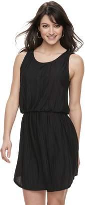 Apt. 9 Women's Textured Blouson Dress