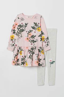 H&M Dress and leggings