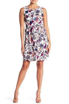 Joe Fresh Printed Sleeveless Dress
