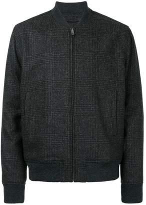 Kent & Curwen tweed bomber jacket