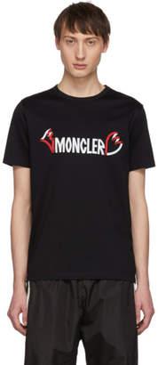 Moncler 2 1952 Black Logo T-Shirt
