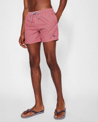 Ted Baker CAVEN Geo print swim shorts