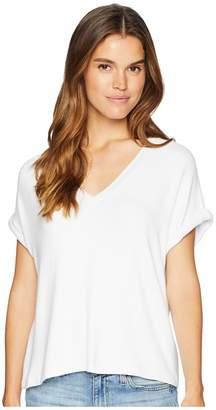 Kensie Soft Stretch Jersey Tee KS7K3739 Women's Clothing