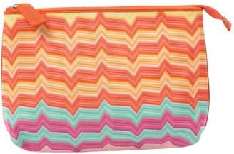 Missoni Orange Cloth Clutch Bag