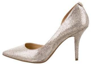 MICHAEL Michael Kors Glitter Pointed-Toe Pumps