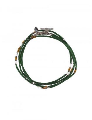 M. Cohen stacked jade bead bracelet $190 thestylecure.com