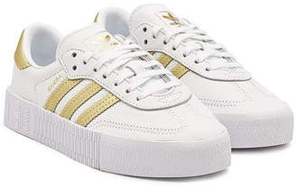 adidas Sambarose Leather Platform Sneakers