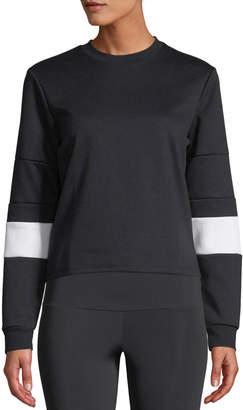 Onzie Blocked Crew Pullover Sweatshirt