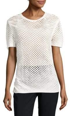 IRO Zana Cotton Perforated Top