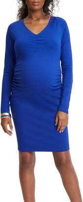 Stowaway Collection Maternity Sheath Dress