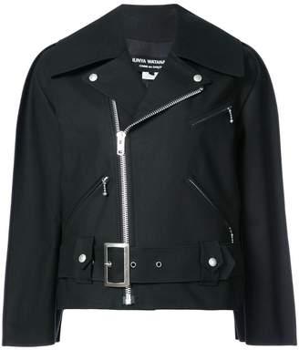 Junya Watanabe oversized biker jacket