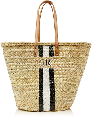 Rae Feather M'Onogram Long Handle Basket