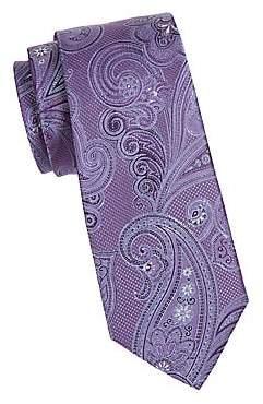 Ike Behar Men's Paisley Silk Tie