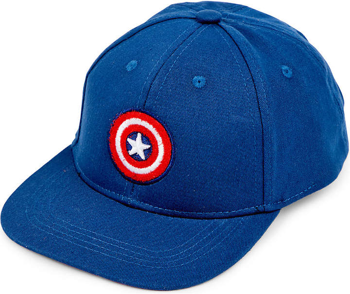 Fabric Flavours Marvel's Captain America interchangeable badge snapback 5-10 years