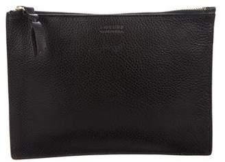 Lotuff Leather Zipper Ipad Mini Pouch w/ Tags