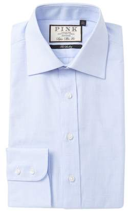 Thomas Pink Ward Check Super Slim Fit Dress Shirt