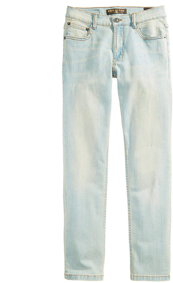 Ring of Fire Honor Denim Slim-Fit Jeans, Big Boys, Created for Macy's