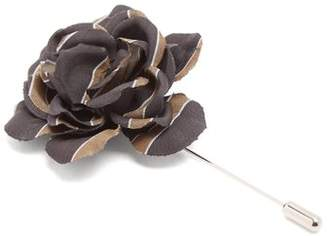 Lanvin - Gardenia Tie Pin - Mens - Black Multi