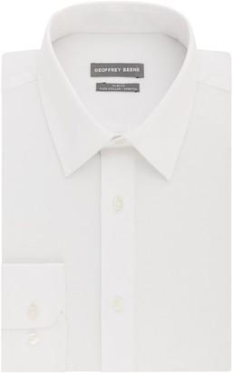 Geoffrey Beene Men's Slim-Fit Stretch Point-Collar Dress Shirt
