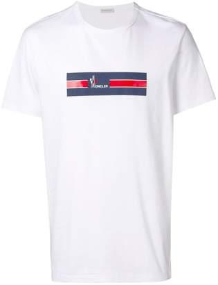 Moncler printed logo T-shirt