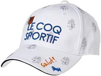 Le Coq Sportif (ル コック スポルティフ) - [ルコックスポルティフゴルフ]キャップ レディース ホワイト 日本 F (FREE サイズ)