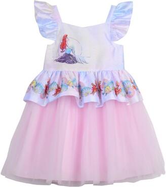 Pippa & Julie Disney® Little Mermaid Peplum Dress