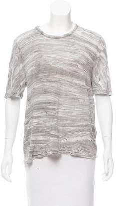 Raquel Allegra Printed Short Sleeve T-Shirt