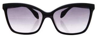 Alexander McQueen Gradient Cat-Eye Sunglasses