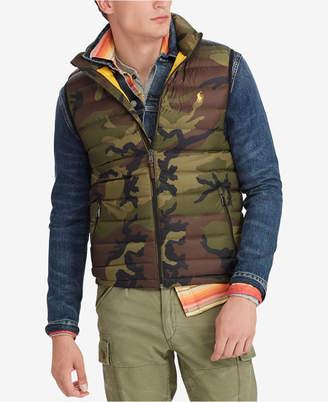 Polo Ralph Lauren Men's Camo Packable Vest