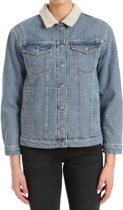 Mavi Jeans Karla Mid-90s Denim & Fleece Jacket