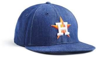 Todd Snyder + New Era + NEW ERA MLB HOUSTON ASTROS CAP IN CONE DENIM