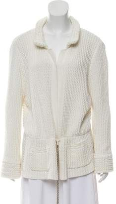 Chanel Textured Knit Jacket