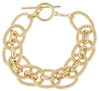 at Accessorize Accessorize Chunky Chain T Bar Bracelet