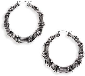 Kitsch Bamboo Hoop Earrings