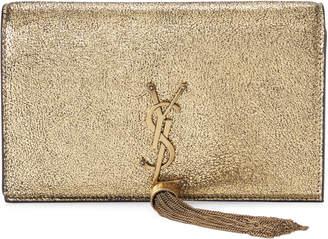 Saint Laurent Gold-Tone Shoulder Bag
