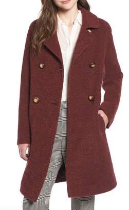 Fleurette Double Breasted Alpaca Blend Coat