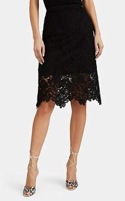 MANNING CARTELL Women's Floral Lace Pencil Skirt - Black
