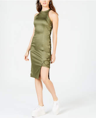 Anthony Logistics For Men La La Sleeveless Lace-Up Dress