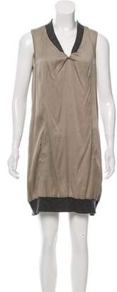 Brunello Cucinelli Silk Mini Dress
