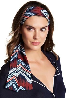 Cara Accessories Printed Tie Headwrap $14.97 thestylecure.com