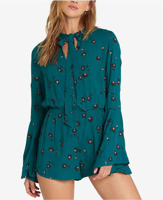 Billabong Juniors' Bell-Sleeve Romper