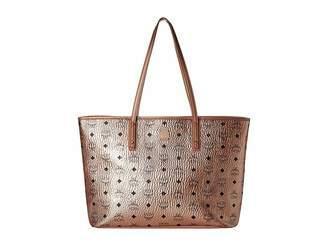 MCM Anya Shopper Top Zip Shopper Medium