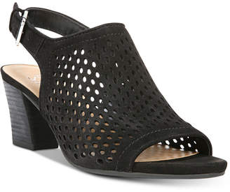 Franco Sarto Monaco Perforated Dress Sandals Women's Shoes