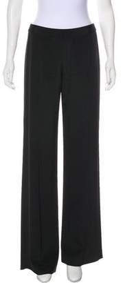 Bill Blass Ebony Silk-Blend Pants w/ Tags