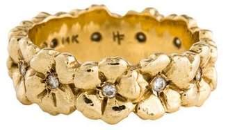 Helen Ficalora 14K Diamond Cherry Blossom Ring