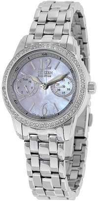 Citizen Silhouette Eco-Drive Mother of Peral Dial Ladies Watch