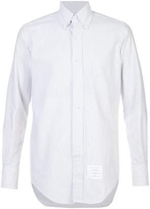 Thom Browne striped long sleeve shirt