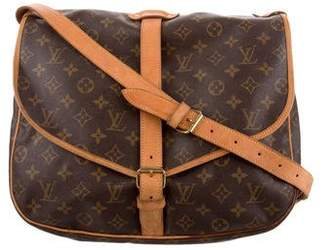 Pre-Owned at TheRealReal · Louis Vuitton Monogram Samur 35 Messenger 7682f1327470d