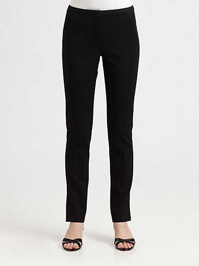 Elie Tahari Stretch-Cotton Melissa Pants