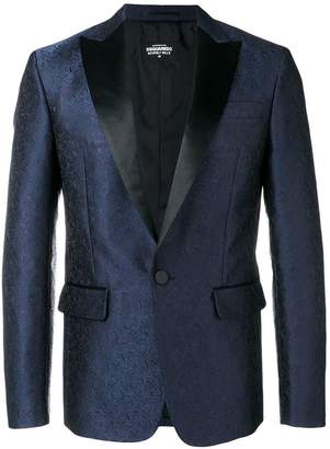 DSQUARED2 Flower Jacquard New Beverly Blazer